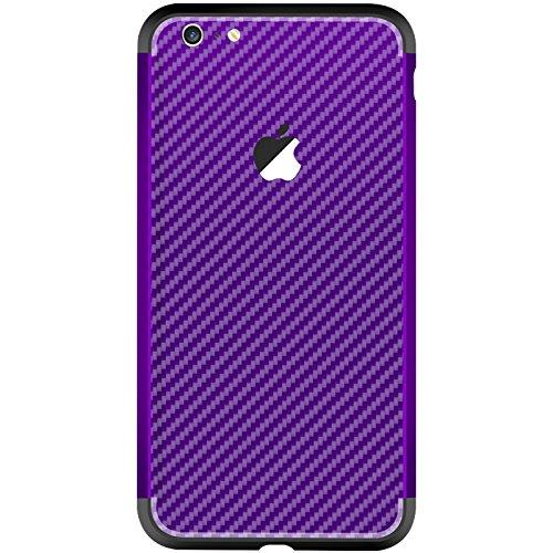 iPhone 6 Plus / iPhone 6s Plus Hülle, Moonmini® Hybride Anti-Kratz Rahmen Bumper Stoßfest Kohlefaser Schutz Schutzhülle für iPhone 6 Plus / iPhone 6s Plus Blau + Golden Lila + Schwarz