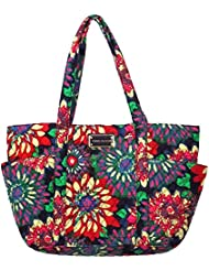 Tommy Hilfiger bolsillo lateral Tote (irregular floral)