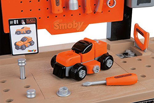 Smoby 360701 - Black + Decker Werkbank Center - 4