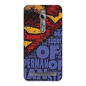 Impressive Premier Day Typo Multicolor Back Case Cover for Asus Zenfone 2