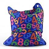 Sitting Bull 634009 Sitzsack Fashion Mini Bull / 130 x 90 cm / Numbers