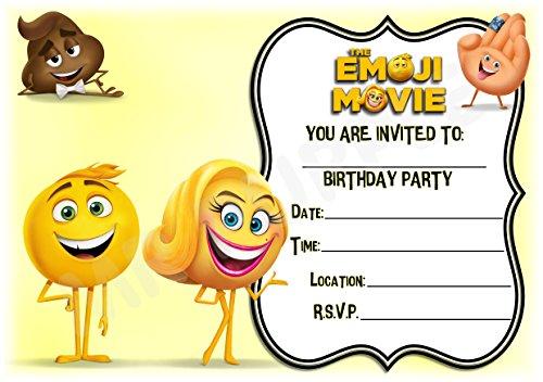 The Emoji Movie Birthday Party I...