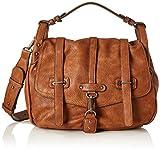 Tamaris Damen Bernadette Satchel Bag Tornistertasche, (Cognac), 12x26x26 cm