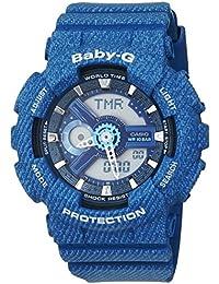 Casio BA-110DC-2A2ER Reloj de pulsera de mujer, Baby-G, analógico, digital, cuarzo, Resina