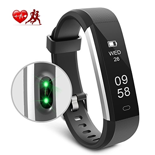 Motenik Fitness Tracker Activity Tracker With Heart Rate Monitor Bracelet Wristband Touch Screen Smart Watch Bluetooth Pedometer Sleep Monitor For Men Women And Kids Compatible With AndroidiOS