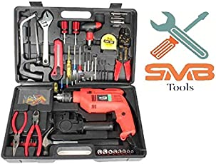 SMB TOOLS AGNI TOOL KIT DRILL 13 MM MACHINE WITH 105 PCS