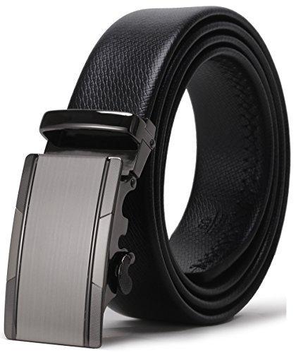 775fd013d38abd ITIEZY Herren Gürtel Ratsche Automatik Gürtel für Männer 35mm Breit  Ledergürtel