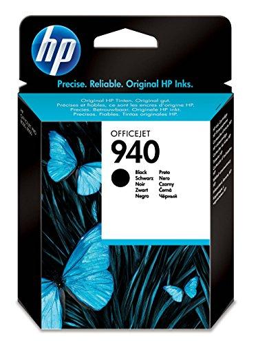 HP 940 Cartouche d'Encre Noir Authentique (C4902AE)
