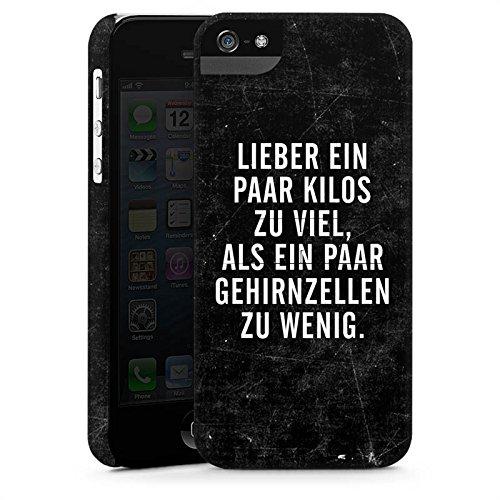 Apple iPhone X Silikon Hülle Case Schutzhülle Gewicht Humor Sprüche Premium Case StandUp
