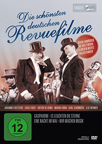 Bild von Die schönsten deutschen Revue-Filme [4 DVDs]