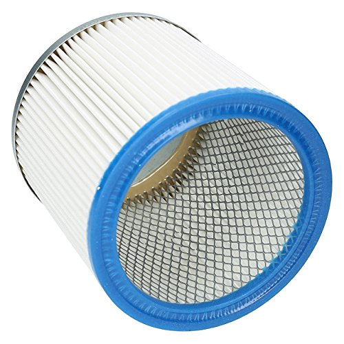 ✧WESSPER® Patronen Filter für SHOPVAC PRO 370 (Fur trockenen und nassen Einsatz) - Shop-vac Patrone Filter
