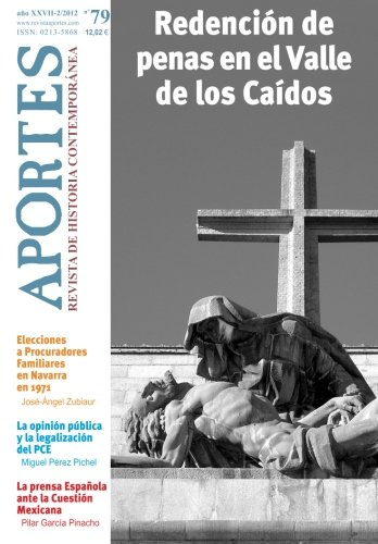 Portada del libro Aportes. Revista de Historia Contemporánea: Nº 79, año XXVII (2/2012)