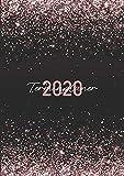 Terminplaner 2020: Ein Kalender und Wochenplaner für das Jahr 2020. Pro Woche zwei Seiten. Taschenkalender im Format DIN A5. Edition: Glitter. - Selbstimpuls