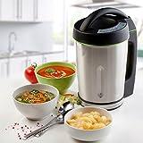 Vollautomatischer Suppenkocher -Soup Maker kocht, mixt und erwärmt ganz von allein in nur 20 Minuten, 1,6 Liter, 3 Programme