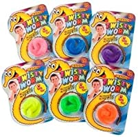 PinkWebShop Magic Twisty Wiggley Worm - Set Of 2 Worms