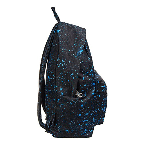 Just Hype Hype bag (Splash), Borsa a spalla uomo Black / Blue