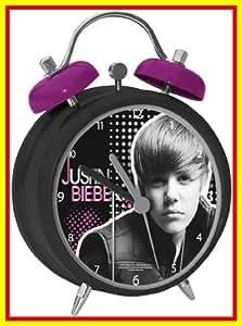 Justin Bieber Réveil Heure 12 cm