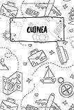 Guinea-Bissau: Liniertes Reisetagebuch Notizbuch oder Reise Notizheft liniert - Reisen Journal für Männer und Frauen mit Linien