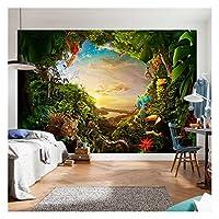 Tree Plants Flower Sunlights Wallpaper Photo Wall Mural Home Bedroom Decoration 325x215cm