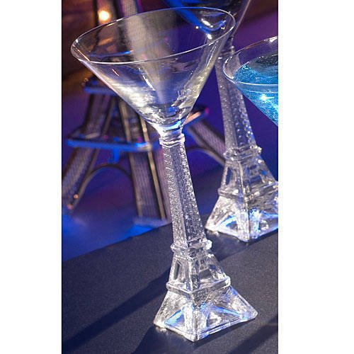 Shindigz Eiffel Tower Stem Glass