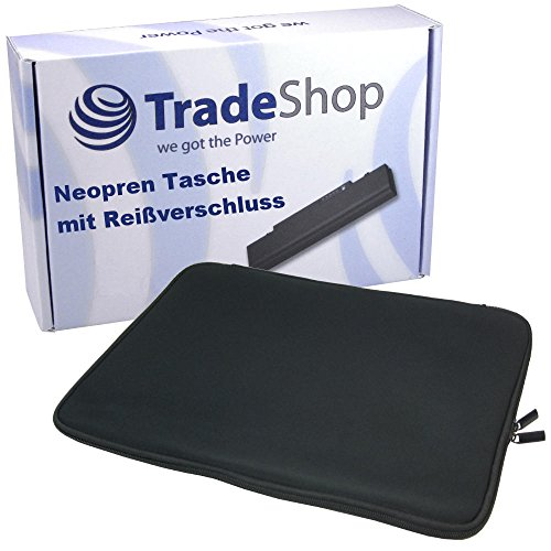 Neopren Slim Notebook Laptop Schutzhülle Tasche Hülle Sleeve mit langem Reißverschluss für Fujitsu Siemens LIFEBOOK T Serie