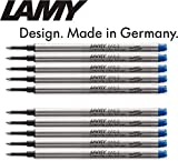 LAMY M 63 Tintenroller-Mine, Strichstärke: M (10er Pack, blau)