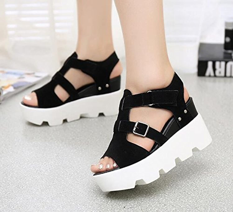 Zormey Vtota Moda Mujer Sandalias 2017 Gladiator Sandals Mujer Cuñas Casual Verano Sandalias Zapatos Zapatos Mujer...