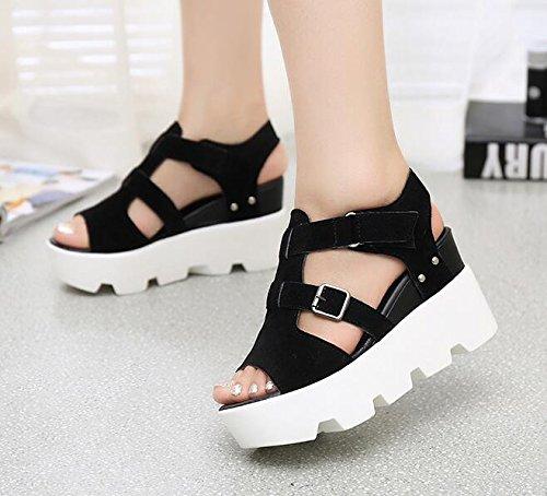 5 Casual Sandalias Schuhe Zormey Sommer 8 Mode Sandalen Gladiator 2017 Mujer Keile Frauen Vtota X469 YY6Hqa