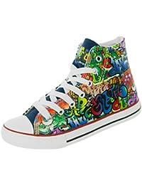 Suchergebnis Auf Amazon De Fur Kinder Canvas Schuhe Mehrfarbig