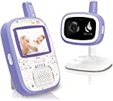 Hestia H102 Digital Video Baby Monitor with Camera, 2.4 inch LCD, Night Vision, 2 Way Talk, VOX