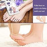 Fuß Peeling Maske,Fußmaske, Exfoliating Foot ...Vergleich