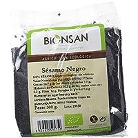 Bionsan Sésamo Negro de Cultivo Ecológico - 6 Paquetes de 300 gr - Total: 1800 gr