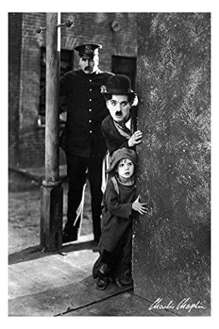 Empire 327727 charlie chaplin kid cinéma the classic film poster 61 x 91,5 cm