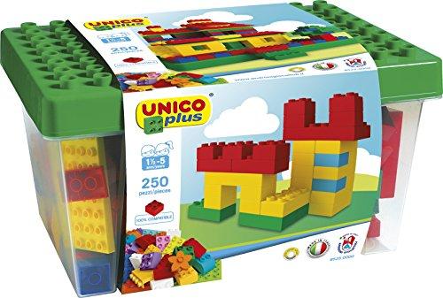 Unico Plus 8525-Box mit Bausteinen (250Teile)