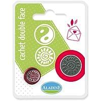 Aladine - 71106 - Loisirs Créatifs - Double Cachet En Blister Yin Yang Soleil Spirale