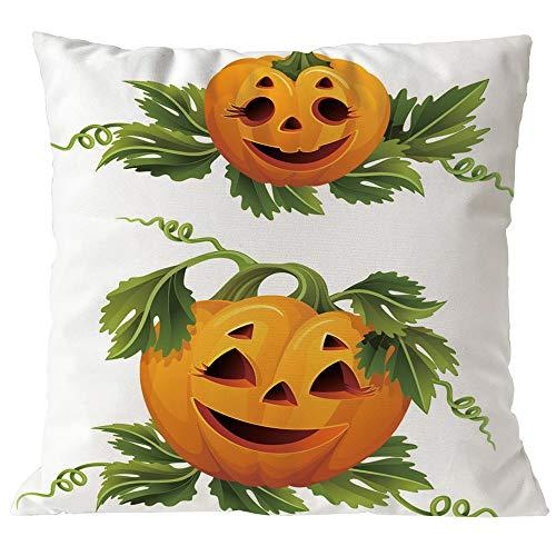 Halloween Happy, HUYURI Teufel Kürbis Thema Decor Kissenbezug Sofa Taille Wurf Kissenbezug