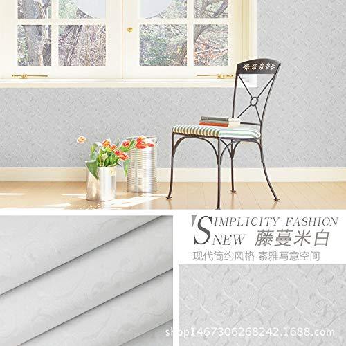 lsaiyy Tapete Selbstklebende geprägte PVC-Tapete Verdickung Studentenwohnheim Wohnzimmer Schlafzimmer Wand Renovierung Aufkleber
