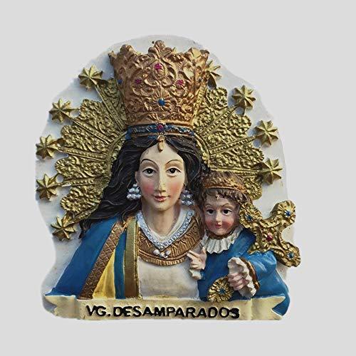 MUYU Magnet Virgen María Estatua de Farias Festival Valencia España