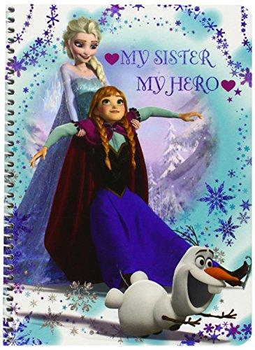 Disney Frozen - Libreta Cuarto de Tapa Dura, 80 Hojas (SAFTA 511538065)