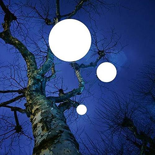 ZKKAW LED Ball Lichter, Outdoor Farbwechsel Schwimmende Pool Lichter Outdoor Landschaft Lichter wasserdichte Lampen mit Fernbedienung für Garten Pool Dekoration,80CM - 634 Lampen