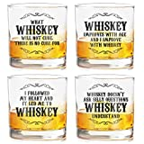 Best Man Shot Glass - Ramposh Whiskey Glasses Set of 4 for Friends Review