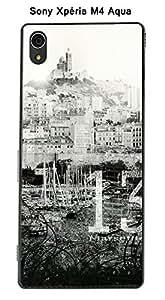 Coque Marseille city pour Sony Xpéria M4 Aqua