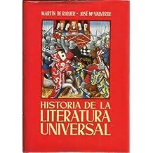 Historia de la Literatura Universal. IV Tomos