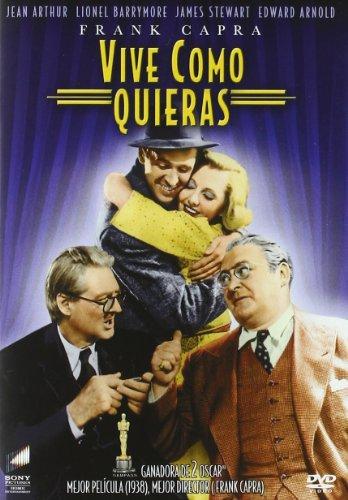Preisvergleich Produktbild Vive Como Quieras (Import Dvd) (2003) James Stewart; Jean Arthur; Edward Arnol