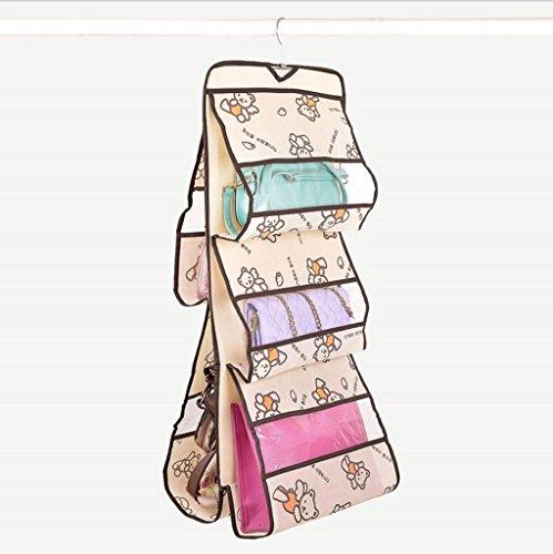 GYMNLJY Muro di Multi-Purpose antipolvere accomodante sacchetto multistrato appeso borse detriti deposito borsa appendere la borsa Wardrobe(pack of 2)