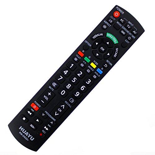 Viera Plasma-tv (Plasma TV Ersatz Fernbedienung Panasonic VIERA N2QAYB000354 Ersatzfernbedienung - frustfreie Bedienung)