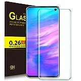KuGi. pour Verre trempé Samsung Galaxy S10E [Dureté 9H] HD Ultra Transparent Protection écran en Verre trempé pour Samsung Galaxy S10 E (Clear)
