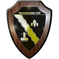 Wappenschild Pionierbataillon 320 PiBtl 320 Pionier-Bataillon Wappen #24069