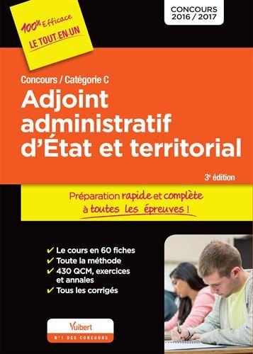 Concours Adjoint administratif d'État et terr...