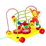 #2: FunBlast Push Pull Toy For Toddlers - Educational Skill Improvement Toys - Multicolor
